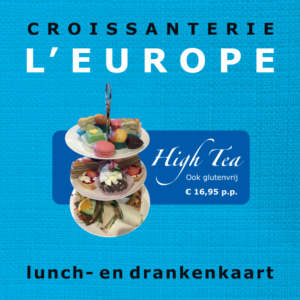 Lunch- en drankenkaart 2019